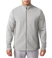 Adidas Mens ClimaWarm Hybrid Heathered Jacket