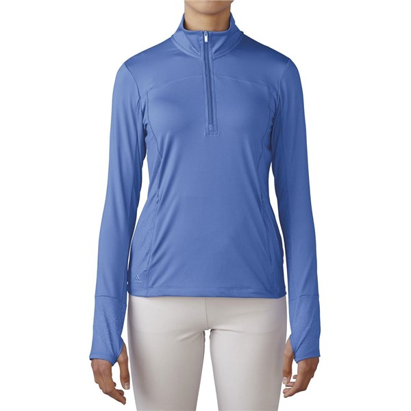 adidas Ladies Essentials Range Wear Half Zip Top