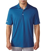 Adidas Mens Performance Crestable Polo Shirt