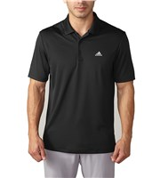 Adidas Mens Performance Polo Shirt  Logo on Chest