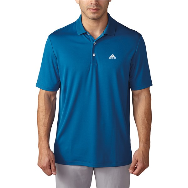 adidas Mens Performance Polo Shirt (Logo on Chest)