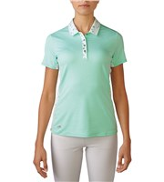 Adidas Ladies Advance Bonded Mesh Mix Polo Shirt