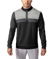 Adidas Mens ClimaCool ColourBlock Quarter Zip Top