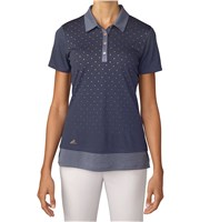 Adidas Ladies Printed Polo Shirt
