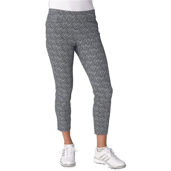 Adidas Ladies Pull On Ankle Trouser