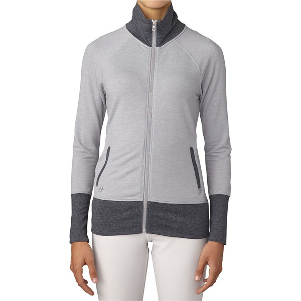 Adidas Ladies Rib Knit Jacket