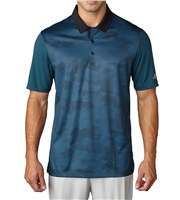 Adidas Mens Climachill Dot Camo Polo Shirt