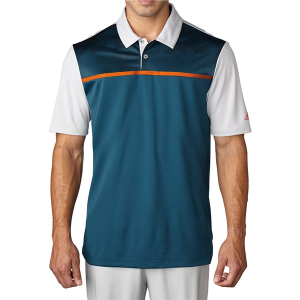 adidas Mens ClimaCool Dot Camo Polo Shirt