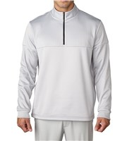 Adidas Mens ClimaWarm Debossed Quarter Zip Top