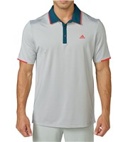 Adidas Mens Climacool Tip Crestable Vented Polo Shirt