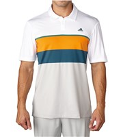 Adidas Mens ClimaCool Engineered Stripe Polo Shirt