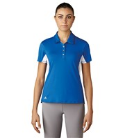 Adidas Ladies Essentials 3 Stripes Short Sleeve Polo Shirt