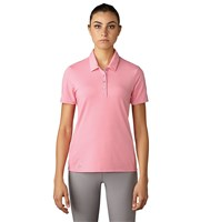Adidas Ladies Essentials Cotton Hand Short Sleeve Polo Shirt