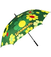 LOUDMOUTH 64 inch Double Canopy Agusta Magic Umbrella
