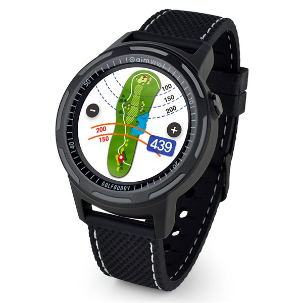 GolfBuddy aim W10 Smart Golf GPS Watch