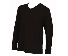 Ashworth Mens French Terry V Neck Sweater