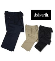 Ashworth Mens Euro Fit EZ-TECH Twill Trouser