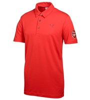 Puma Golf Mens Tech Polo Limited Edition Arsenal Polo Shirt