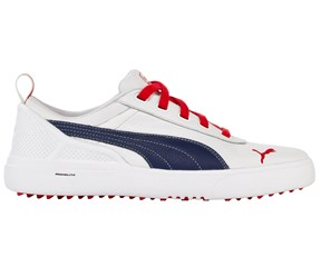 Puma Golf Mens Monolite Limited Edition Arsenal Spikeless Golf Shoes