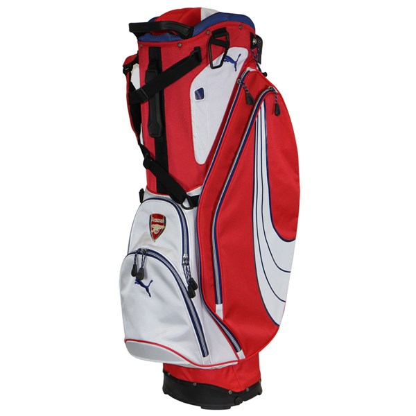 Puma Golf Form Stripe Limited Edition Arsenal Stand Bag  743a584acd5c5