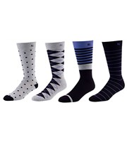 FootJoy ProDry Fashion Crew Socks  4 Pairs