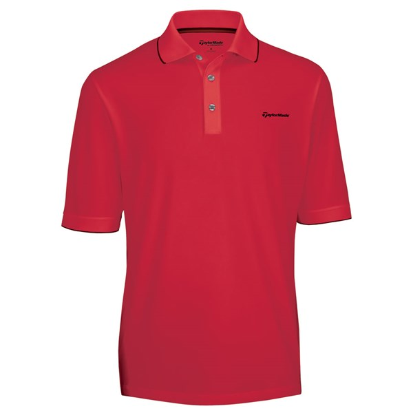 TaylorMade By Ashworth Tipped Polo Shirt