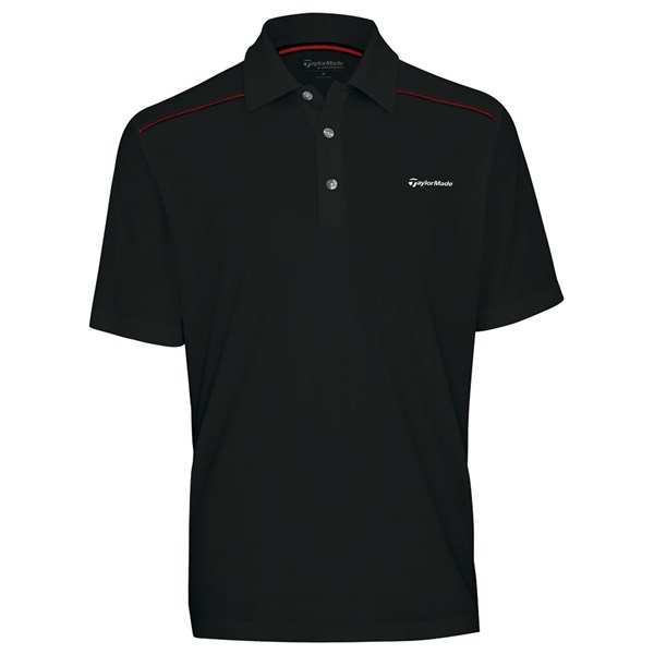 TaylorMade By Ashworth Textured Block Polo Shirt