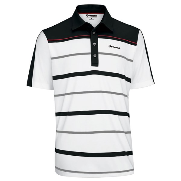 TaylorMade By Ashworth Engineered Stripe Polo 2012