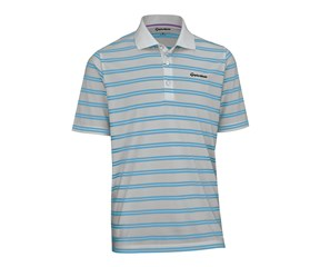 TaylorMade By Ashworth Pique Striped Polo Shirt 2013