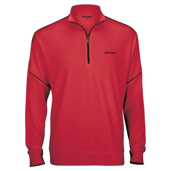 TaylorMade By Ashworth Piped Pullover Sweater