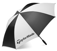 TaylorMade 62 Inch Sinlge Canopy Umbrella (Black/White)