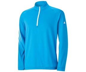 Adidas Mens 3 Stripes Half Zip Pullover