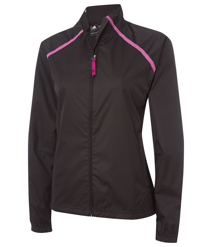 Adidas ladies climastorm provisional rain jacket golfonline for Adidas golf rain shirt