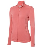 Adidas Ladies Essentials 3-Stripes Full Zip Layering Top