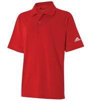 Adidas Boys Solid Jersey Polo Shirt