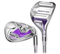 Cobra Ladies Baffler XL Hybrid Combo Irons 2014  Graphite Shaft