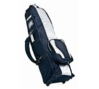 Pro Deluxe Roller Travel Cover (Black/Silver)