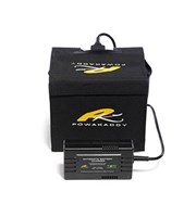 PowaKaddy 12v 24A/hr Extended Lead Acid Battery  Interconnect Connection