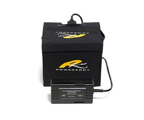 PowaKaddy Extended Lead Acid Battery  12v 24A/hr Interconnect Connection