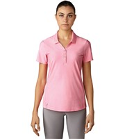 Adidas Ladies Essential Jacquard Polo Shirt