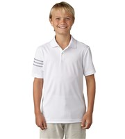 Adidas Boys 3-Stripes Polo Shirt