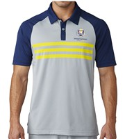 Adidas Mens ClimaCool 3 Stripes Competition Ryder Cup Polo Shirt