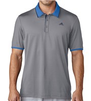 Adidas Mens ClimaCool Performance Polo Shirt  Logo on Chest