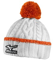 Mizuno Cable Knit Bobble Hat