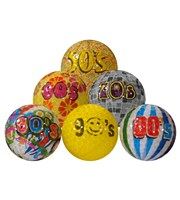 Decades Golf Balls  6 Pack