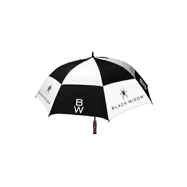 Black Widow Double Canopy Umbrella