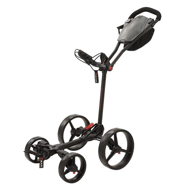 Big Max Blade Quattro Quick Fold Push Trolley