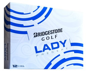 Bridgestone Ladies Lady Precept White Golf Balls 2016  12 Balls