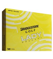 Bridgestone Ladies Lady Precept Yellow Golf Balls 2016  12 Balls