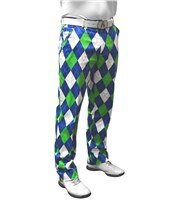 Royal And Awesome Mens Blues on the Green Trouser